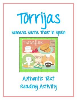 Torrijas Semana Santa Treat in Spain - Authentic Text Read