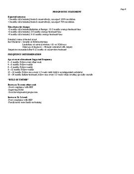 Torticollis Evaluation Template
