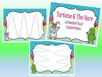 Tortoise & Hare BUNDLE - PPT Edition (Tempo Activity, Story, Vocal Explorations)