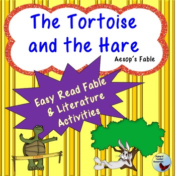 The Tortoise and the Hare Aesop Fable Reading Comprehension Passage & Activities
