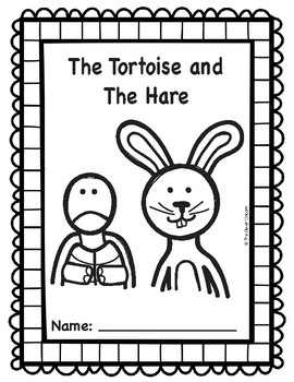 Tortoise and the Hare Emergent Reader Play