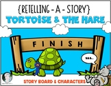 Tortoise & the Hare {Retelling a Story} Storyboard & Chara