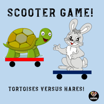 Tortoises and Hares: Physical Education Scooter and Locomotor Skills Game!