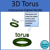 Torus - 3D Shape for Whiteboards and Smartboards