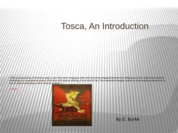 Tosca, An Introduction