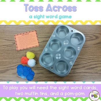 Toss Across: A Sight Word Game Center