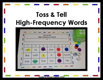Toss & Tell High-Frequency Words