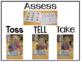 Toss Tell and Take Kindergarten Math