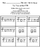 Toss, Trace, and Read Pre-Primer Sight Words
