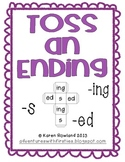 Toss an Ending - A Game of Inflectional Endings!