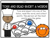 Toss and Read Short A Word Family Center
