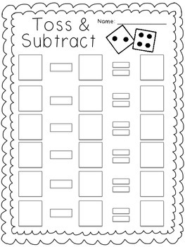 Toss and Subtract