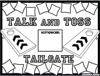 Talk and Toss Tailgate: Open-ended reinforcement game for speech therapy