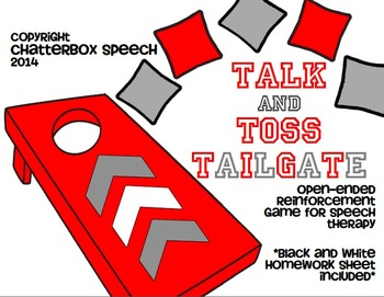 Talk and Toss Tailgate: Open-ended reinforcement game for