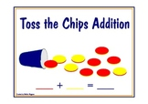 Toss the Chips Addition Workmat