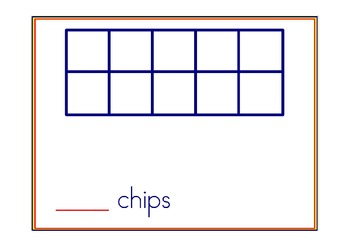 Toss the Chips Counting