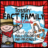 Multiplication Fact Family Fact Cards: Two Sets