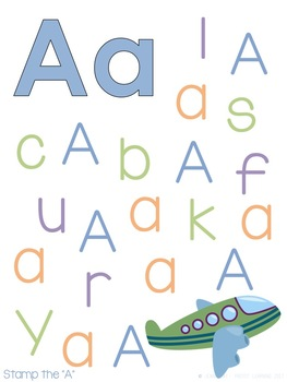 Tot School: A is for Airplanes