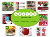 Tot School | APPLES | One Week of Activities | Printables