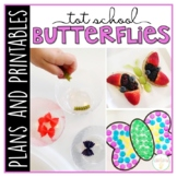 Tot School: Butterflies {Plans and Printables}