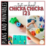 Tot School: Chicka Chicka 123 {Plans and Printables}