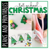 Tot School: Christmas {Plans and Printables}