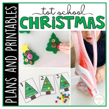 Tot School: Christmas {Plans and Printables}