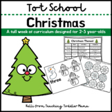 Tot School: Christmas Week of Curriculum for 2-3 Year-Olds