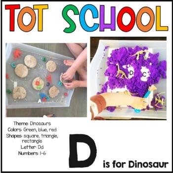 Tot School D is for Dinosaur