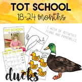 Tot School: Ducks Unit 18-24 Months