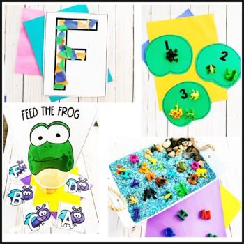 Tot School F is for Frog