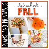 Tot School: Fall {Plans and Printables}