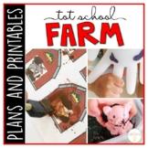 Tot School: Farm {Plans and Printables}