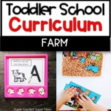 Tot School- Farm Themed Activities for Toddlers