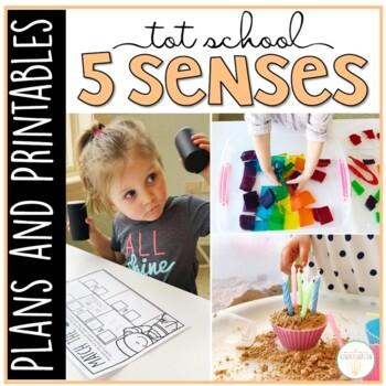 Tot School: Five Senses {Plans and Printables}