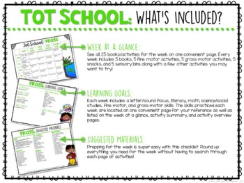 Tot School: Frogs {Plans and Printables}
