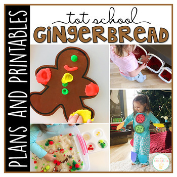 Tot School: Gingerbread {Plans and Printables}