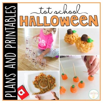 Tot School: Halloween {Plans and Printables}