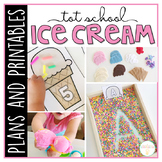 Tot School: Ice Cream{Plans and Printables}