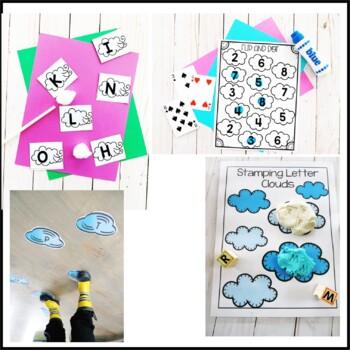 Tot School Letter U is for Umbrella
