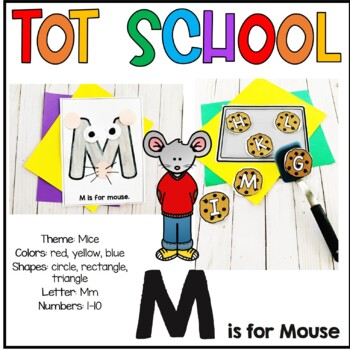 Tot School M is for Mouse