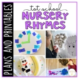 Tot School: Nursery Rhymes {Plans and Printables}