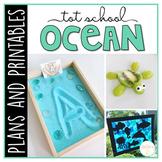 Tot School: Ocean {Plans and Printables}