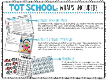 Tot School: Penguins {Plans and Printables}