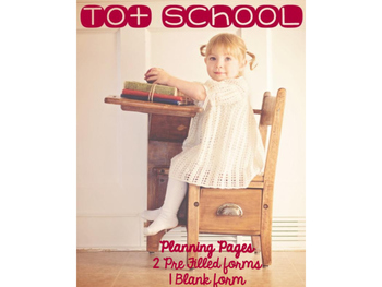 Tot School Planning Forms (Horiztonal)