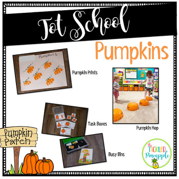 Tot School- Pumpkins