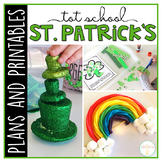 Tot School: St. Patrick's Day {Plans and Printables}