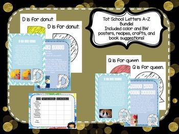 Tot School Starter Kit A-Z BUNDLE