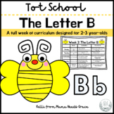 Tot School: The Letter B Week of Curriculum for 2-3 Year-Olds