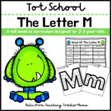 Tot School: The Letter M Week of Curriculum for 2-3 Year-Olds